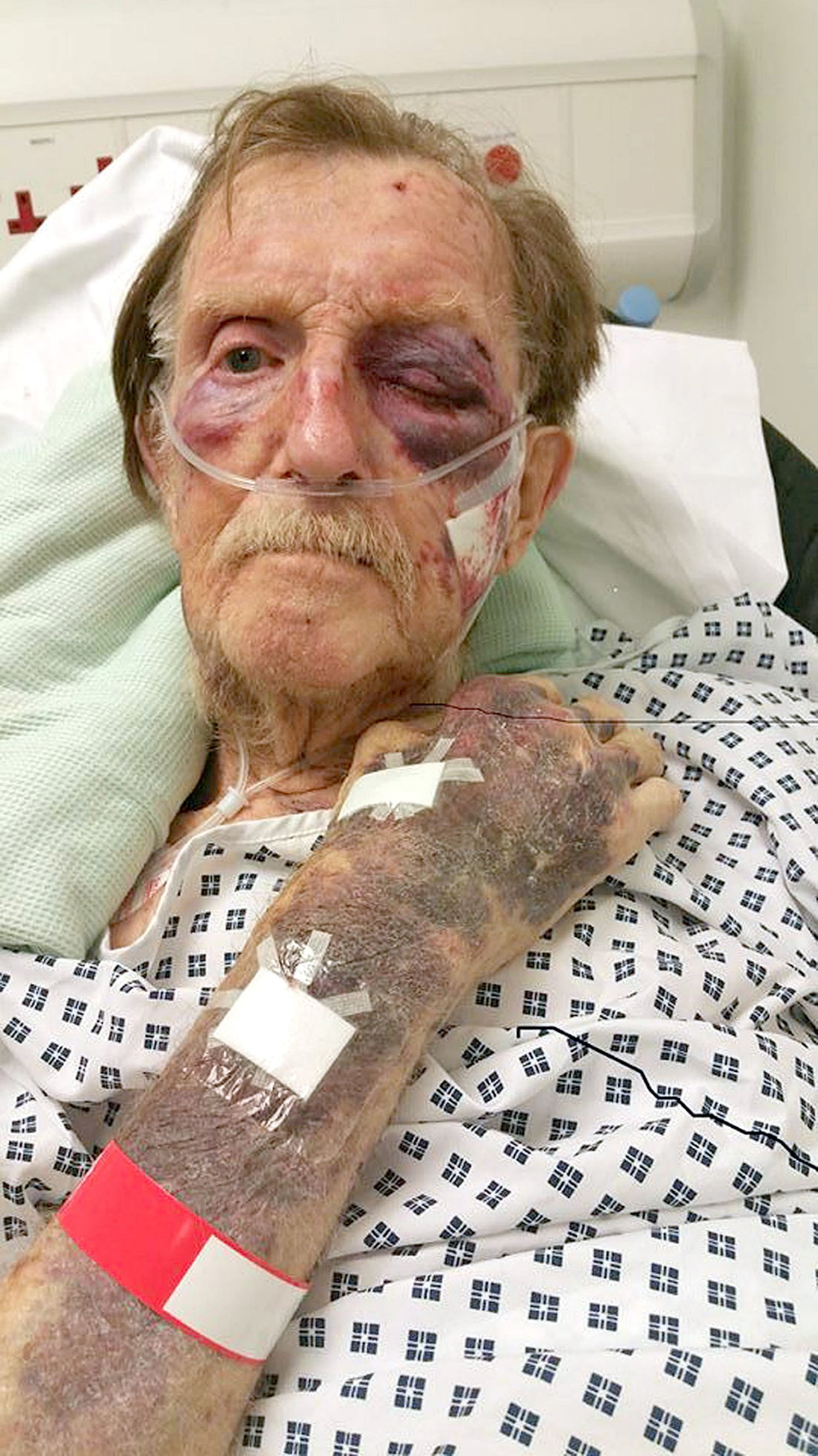 BEST QUALITY AVAILABLE Undated Staffordshire Police handout file photo of Arthur Gumbley, who died after suffering a badly bruised face and body when he was robbed in his own home in Sutton Coldfield, in November 2017. Jason Wilsher has been convicted of the murder of Mr Gumbley at Stafford Crown Court. PRESS ASSOCIATION Photo. Issue date: Thursday March 21, 2019. See PA story COURTS Gumbley. Photo credit should read: Staffordshire Police/PA Wire NOTE TO EDITORS: This handout photo may only be used in for editorial reporting purposes for the contemporaneous illustration of events, things or the people in the image or facts mentioned in the caption. Reuse of the picture may require further permission from the copyright holder.