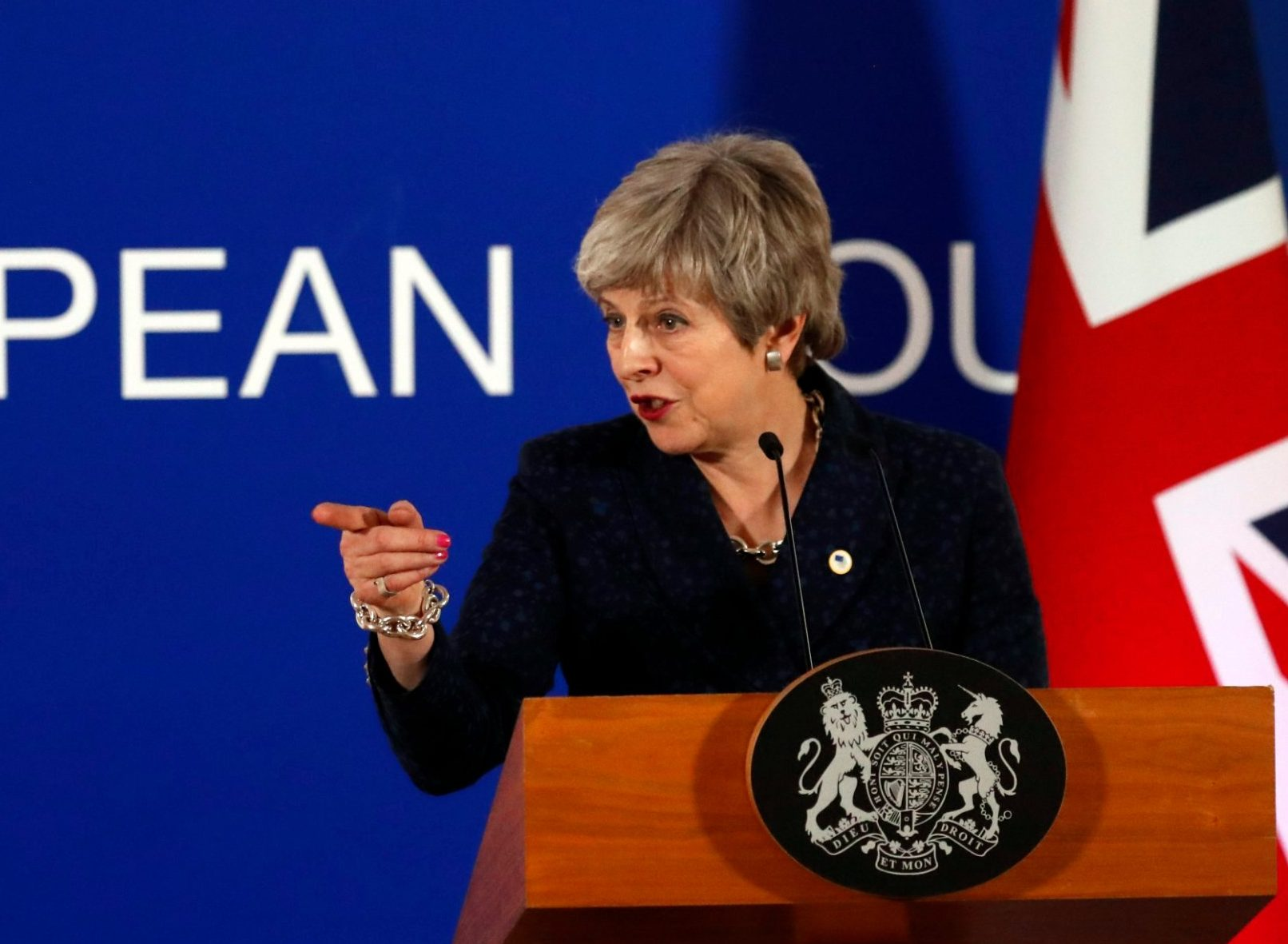 Theresa May much more humble as she begs MPs to support her Brexit deal