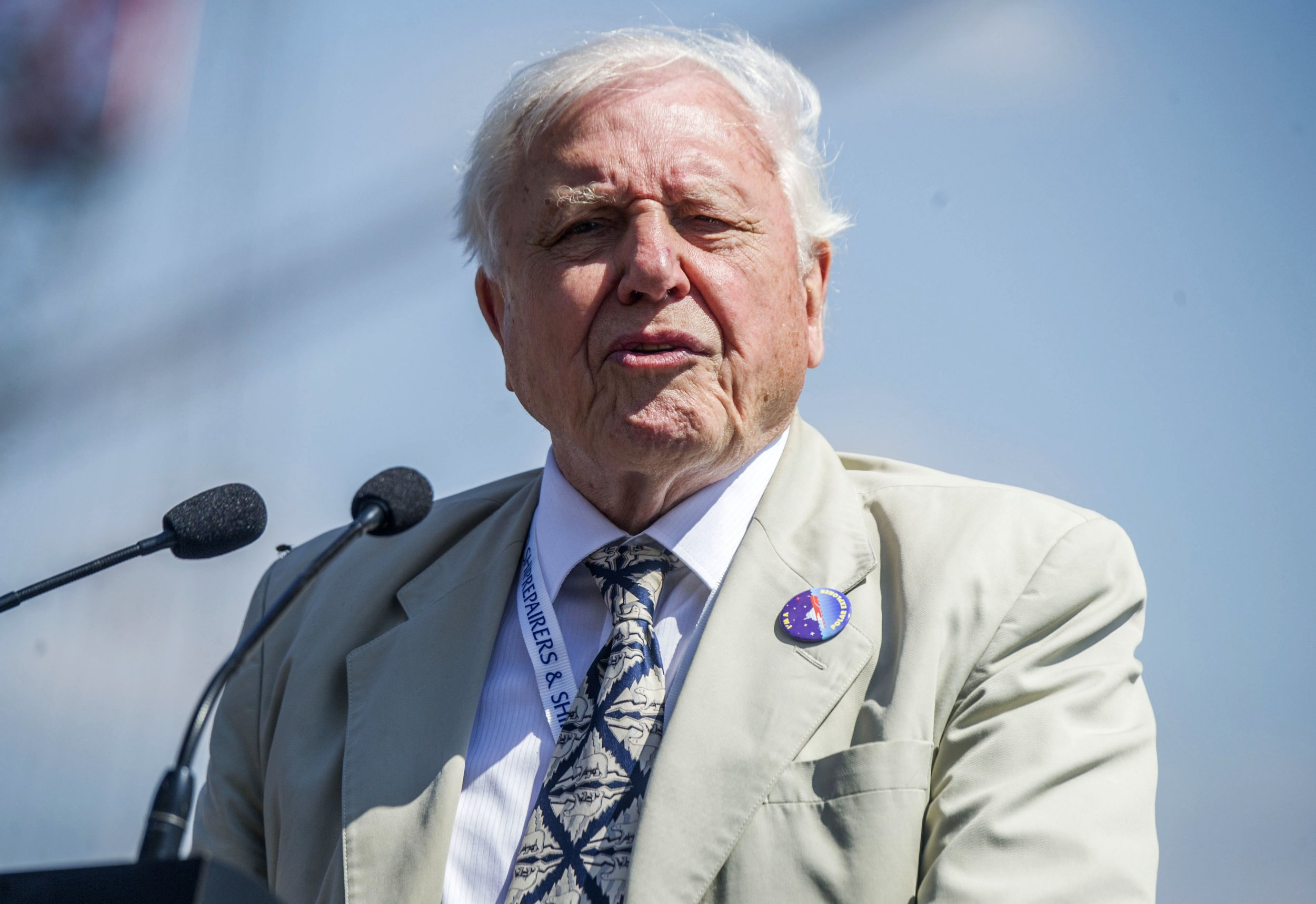 January 31 File photo dated 14/07/18 of Sir David Attenborough, who has said that he would attempt to convince ???blind??? Donald Trump that climate change is a real threat. PRESS ASSOCIATION Photo. Issue date: Monday March 25, 2019. Zoopla analysed urban areas across Britain, excluding London, to find out where investors could expect to get higher returns ??? weighing up how expensive a property may be to buy against the potential rent landlords could expect to generate. See PA story SHOWBIZ Attenborough. Photo credit should read: Peter Byrne/PA Wire