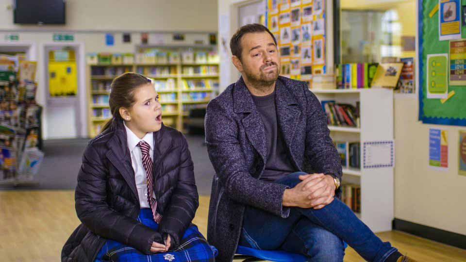 Danny Dyer's tells daughter Sunnie, 11, how he lost virginity at 14 and she really wishes he hadn't