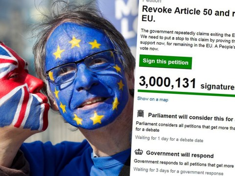 Brexit petition: the UK voted to leave and that cannot be forgotten