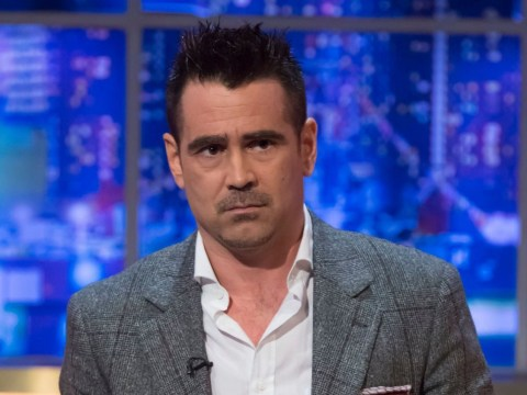 Colin Farrell says it's 'obvious' he should stay off drink – but would 'love to get drunk with Danny DeVito'