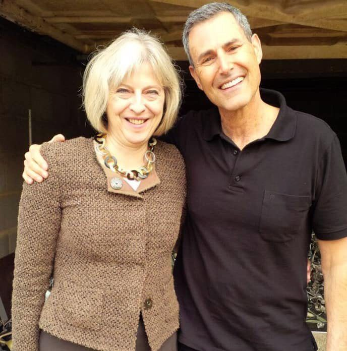 Uri Geller will telepathically stop Theresa May from leading Britain into Brexit Picture: Uri Geller METROGRAB Facebook collect REF: https://www.facebook.com/theurigeller/photos/a.517236458373347/2097198923710418/?type=3&theater