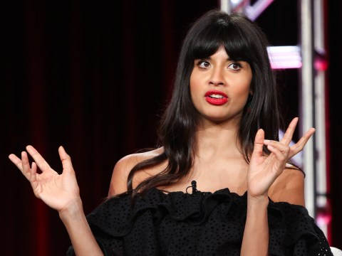 Jameela Jamil voices frustration at fashion industry as she details gown that 'exploded' at her bum