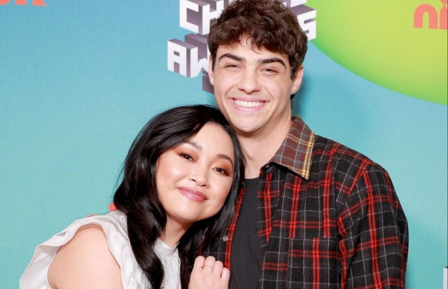LOS ANGELES, CA - MARCH 23: (L-R) Lana Condor and Noah Centineo attend Nickelodeon's 2019 Kids' Choice Awards at Galen Center on March 23, 2019 in Los Angeles, California. (Photo by Rich Fury/KCA2019/Getty Images for Nickelodeon)