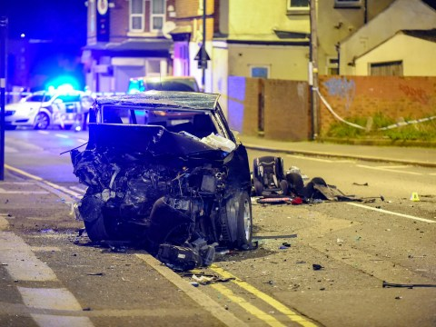 Children, three and five, among injured in serious car crash