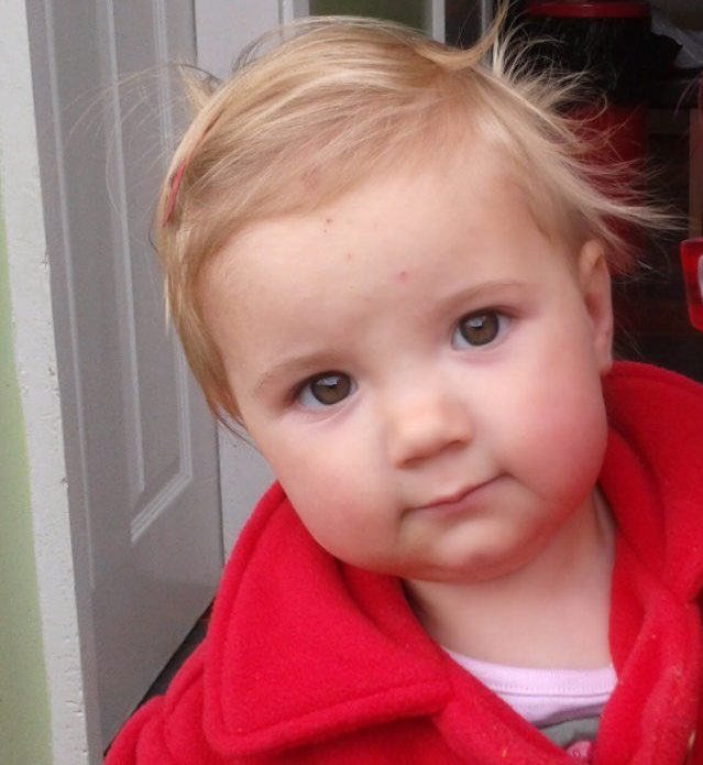 Ellie Louise Baldwin. The mum of a two-year-old girl who died suddenly has been left 'devastated' after a lock of her hair was stolen. Kirsty Baldwin said the snip of blonde hair was all the family 'had left' of her daughter Ellie Louise Baldwin, since she died of bronchial pneumonia six years ago.