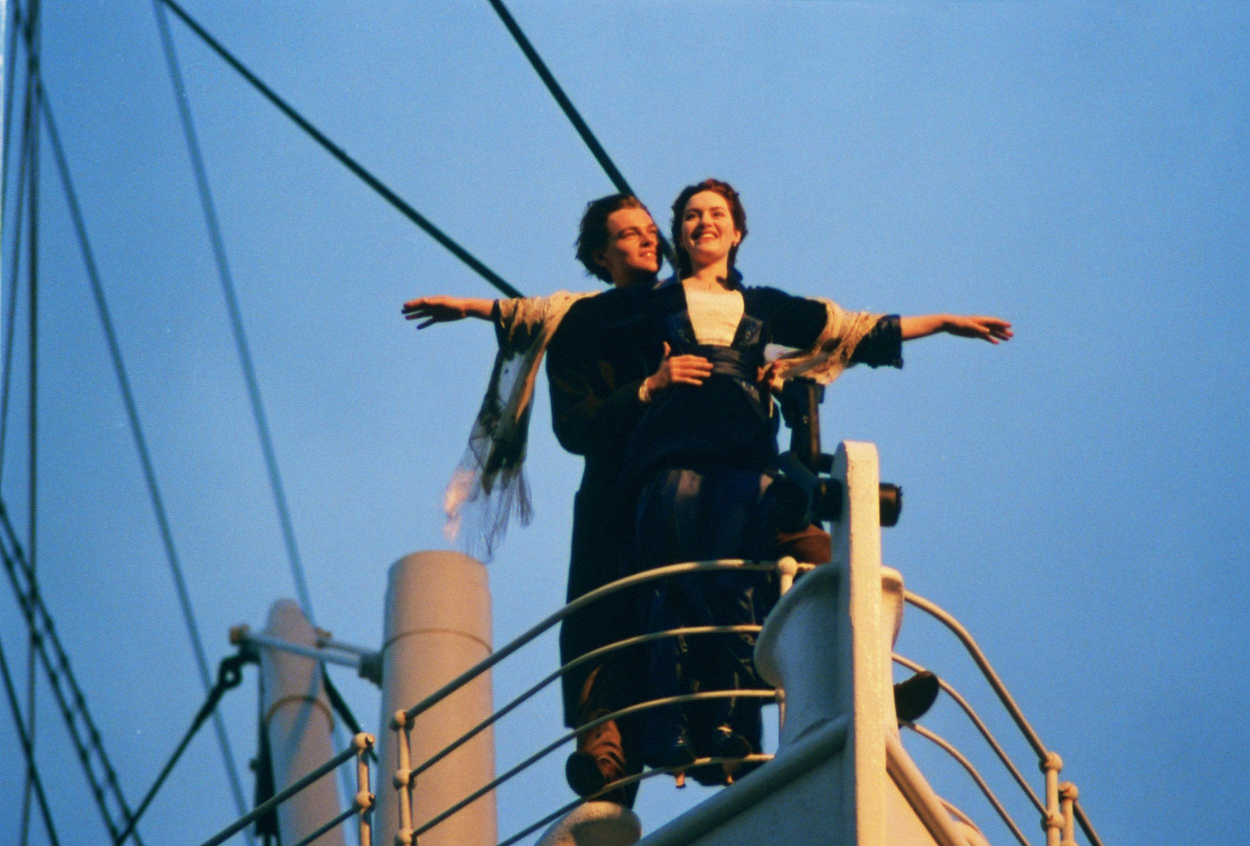 James Corden and Celine Dion hilariously recreate iconic Titanic scene and we're all flying, Jack