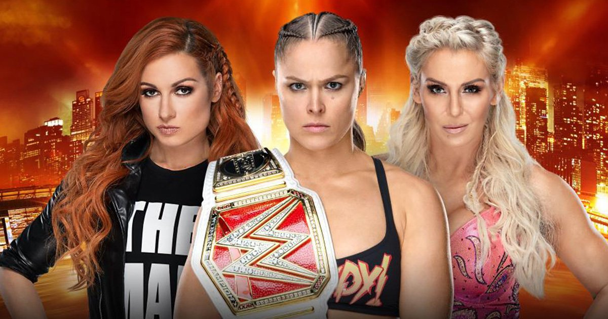 Wrestlemania to be headlined by women's match