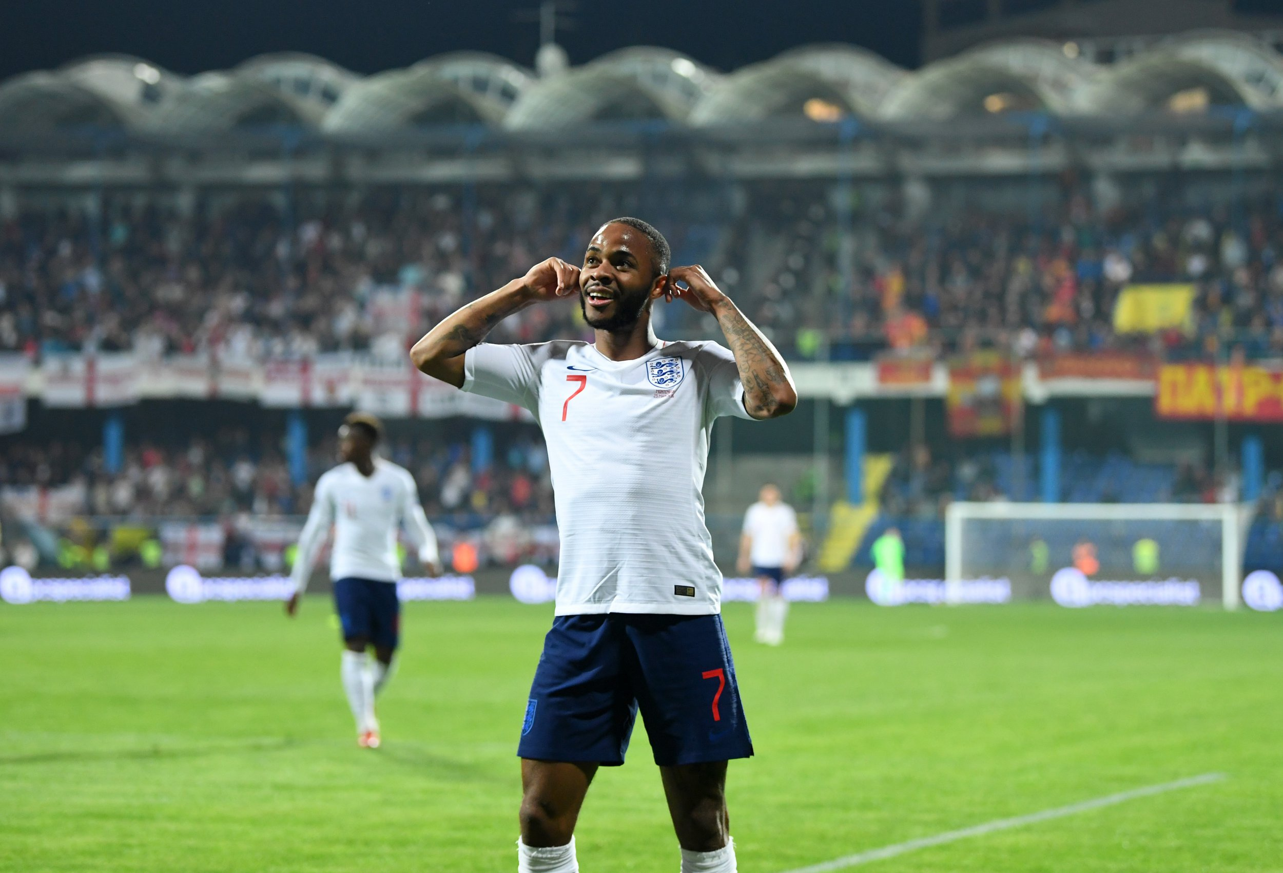 Raheem Sterling speaks out on racist abuse and explains goal celebration vs Montenegro