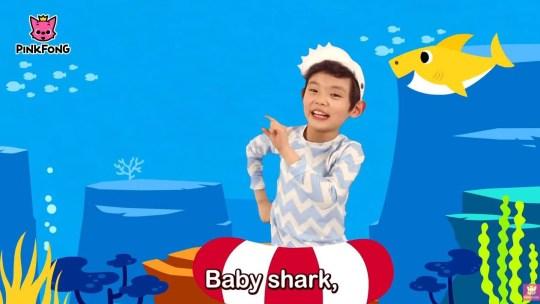 Baby Shark grab