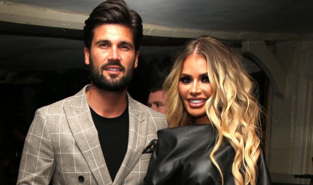 Exclusive All Round Mandatory Credit: Photo by Beretta/Sims/REX (10167853h) Exclusive - Dan Edgar & Chloe Sims Exclusive - 'The Only Way Is Essex' TV Show, Series 24 Launch Party, Sheesh Restaurant, Chigwell, Essex, UK - 25 Mar 2019