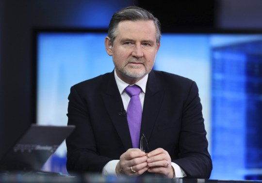 Barry Gardiner, international trade spokesman for the opposition Labour Party, pauses during a Bloomberg Television interview, in London, U.K., on Friday, Jan. 6, 2017. U.K. Prime Minister Theresa May has said she wants maximum access to the European single market coupled with control over immigration, a stance thats at odds with the single markets principles. Photographer: Simon Dawson/Bloomberg via Getty Images