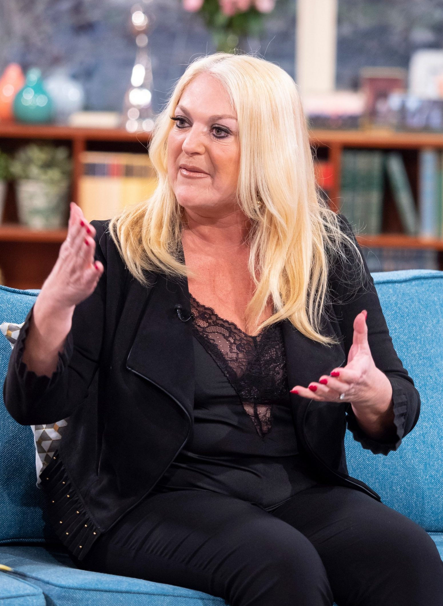 Editorial use only Mandatory Credit: Photo by Ken McKay/ITV/REX (10169592b) Vanessa Feltz 'This Morning' TV show, London, UK - 27 Mar 2019 EXCLUSIVE: THE SECRET BEHIND VANESSA FELTZ?S WEIGHT LOSS Her recent three stone weight-loss has been the basis of media speculation - but there's been no ?quick-fix? behind Vanessa Feltz?s slimmer physique. Instead, it?s the result of an agonising - and at times debilitating - battle with her gastric band. Unable to swallow food or get a good night's sleep, Vanessa made the difficult decision to take it out once and for all. And, after deciding to opt for a gastric bypass instead - Vanessa joins us following a dramatic time in intensive care.