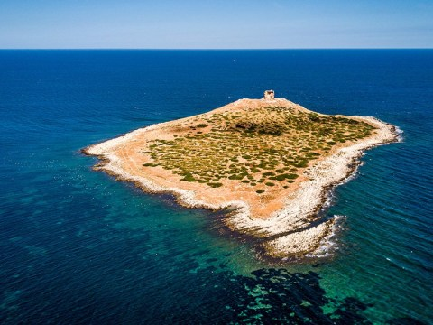 If you've got a spare £856,000, you can buy your own private Italian island