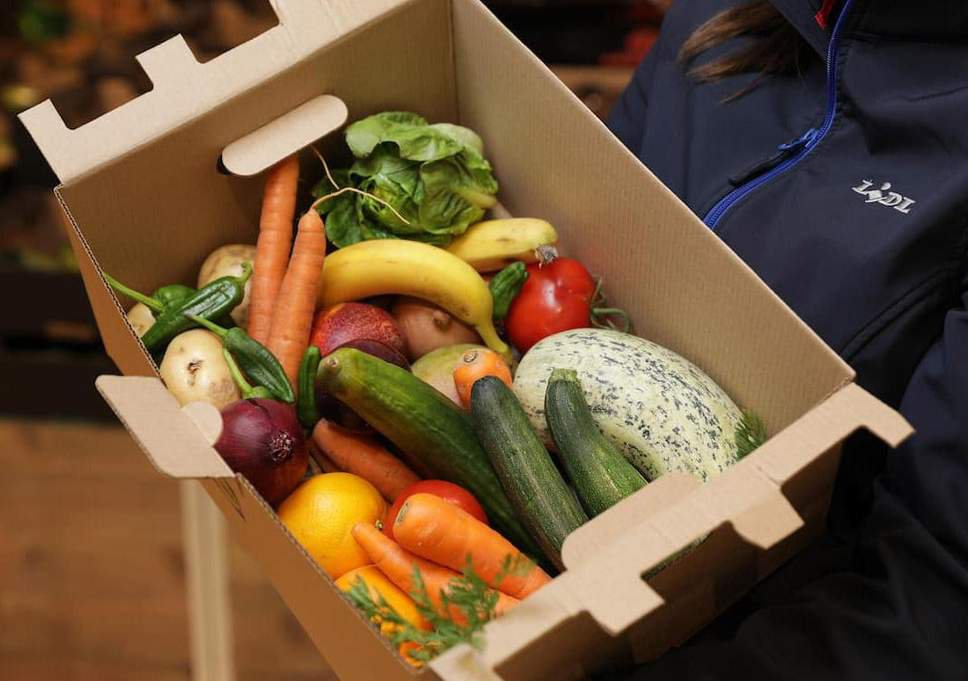 Lidl is selling an enormous 5kg box of 'wonky' veg for just £1.50