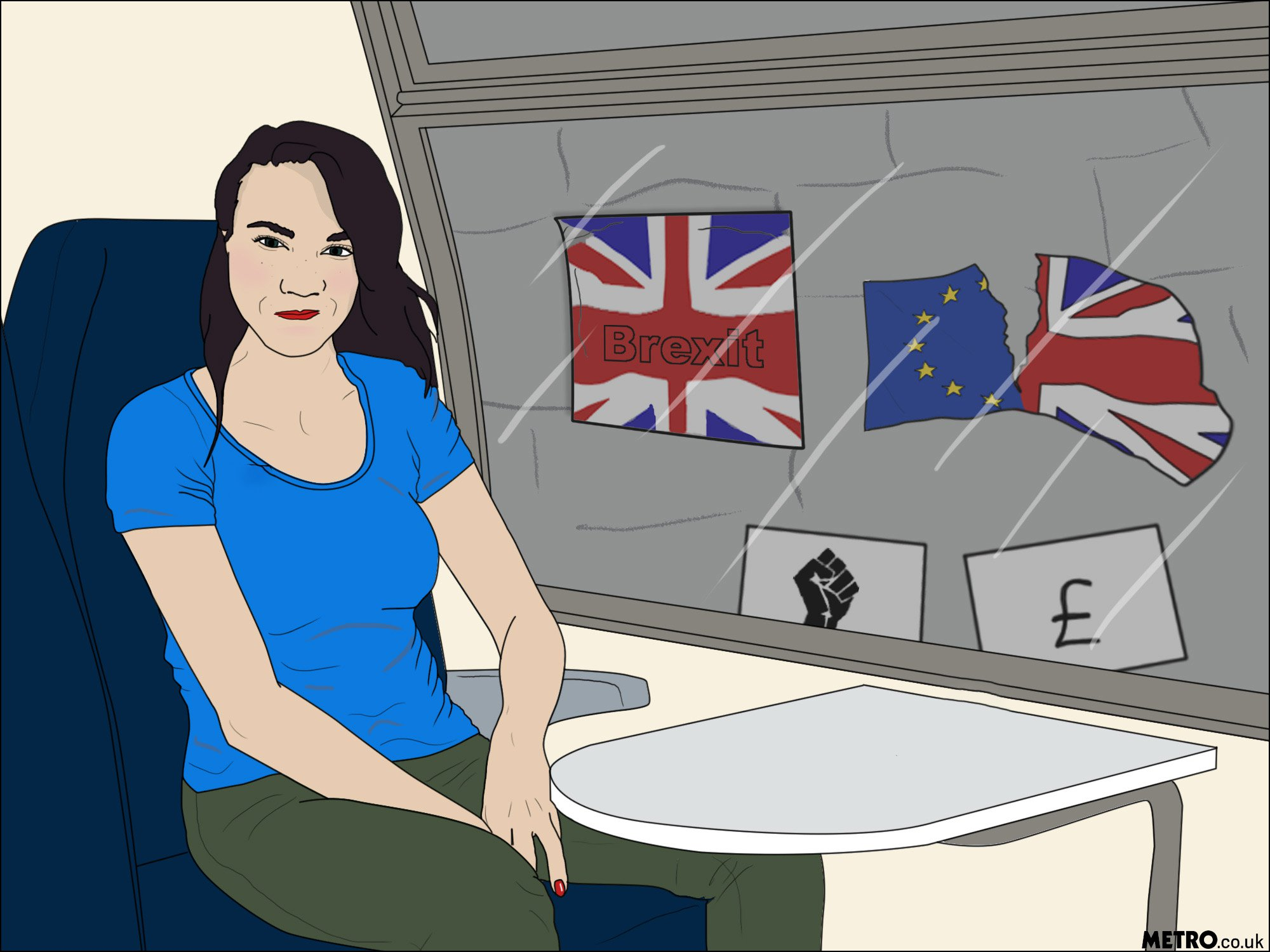 It's the day we were meant to leave the EU and I no longer feel safe