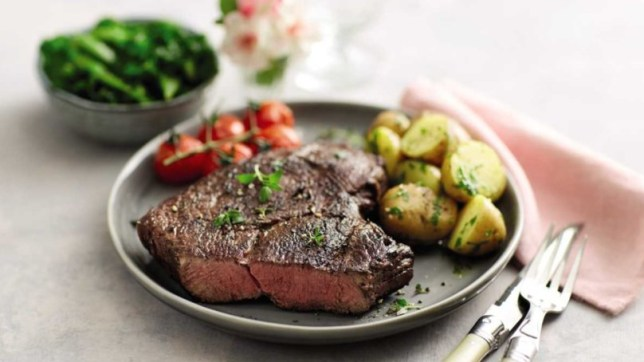 Aldi's supersize steaks are back for mother's day 16oz, 21 day matured rump steak