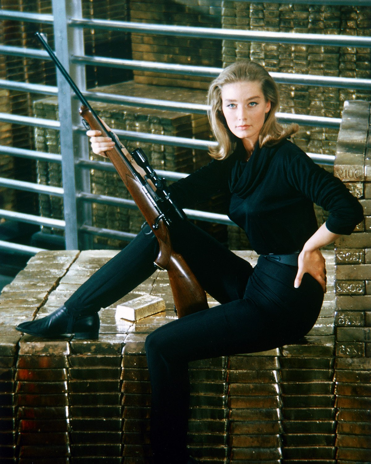 Goldfinger's Tania Mallet dead at 77 as James Bond fans pay tribute
