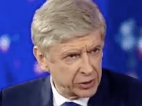 Arsene Wenger predicted that Presnel Kimpembe would be 'risk' against Manchester United