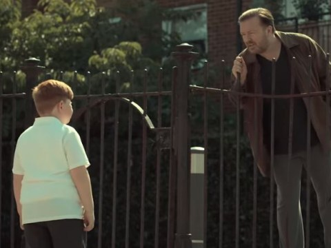 Ricky Gervais has already offended people with After Life… after calling a kid ginger