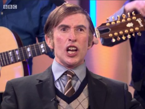 Alan Partridge's Irish lookalike leaves viewers howling by singing Come Out, Ye Black And Tans on the BBC