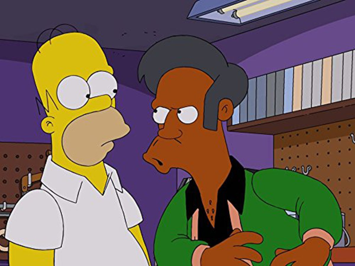 Apu in The Simpsons