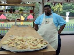 Big Narstie rivals James Acaster as the most brilliantly terrible GBBO contestant