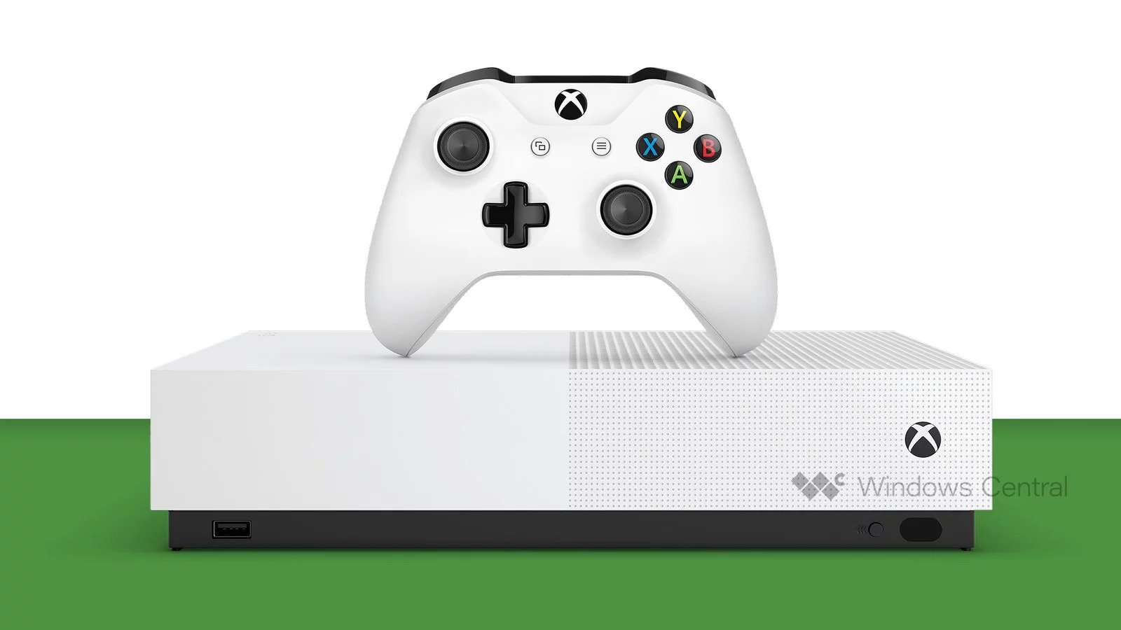 Microsoft's initial disc-less console (pic: Windows Central)