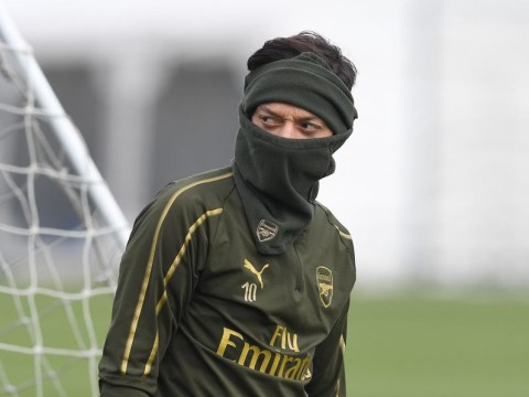 Arsenal star Mesut Ozil raring to go for north London derby