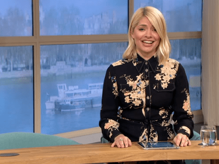 Holly Willoughby forced to present This Morning alone with Phillip Schofield off sick
