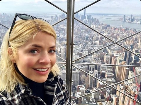 Holly Willoughby fans think she's landed a new presenting job in America after 'whistle stop' NYC trip