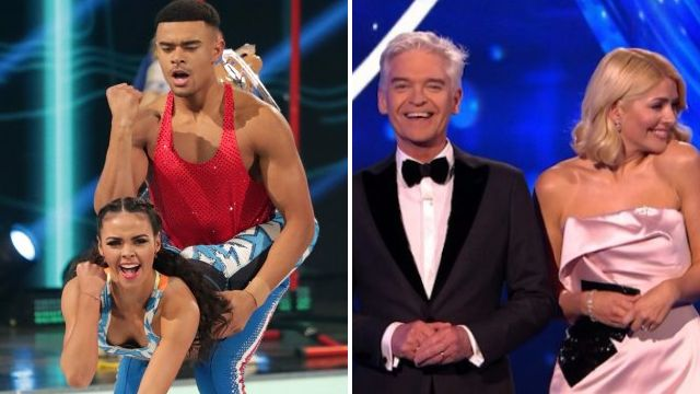 Phillip Schofield pokes fun at Dancing On Ice's Wes and Vanessa 'fling' with awkward comment