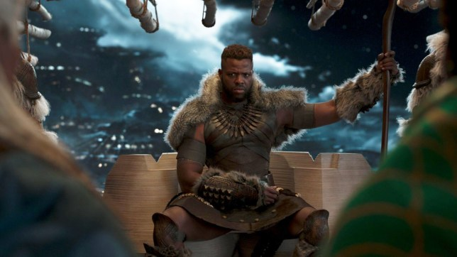 Winston Duke starring as M'Baku in the Marvel Black panther movie