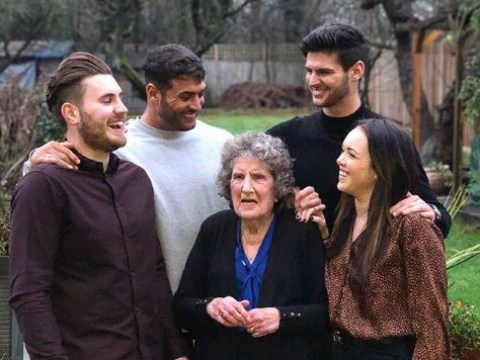 Heartbreaking image emerges of Love Island's Mike Thalassitis sharing last Christmas with beloved nan