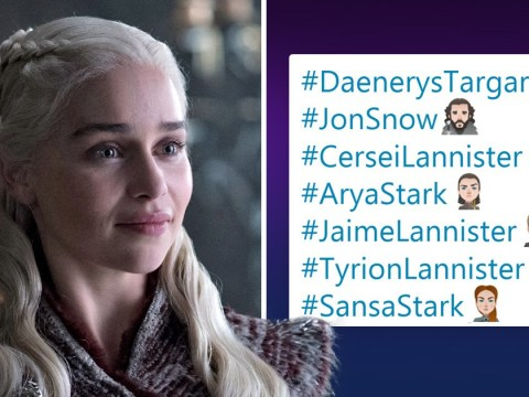Get excited, the Game of Thrones characters have been turned into Twitter emojis