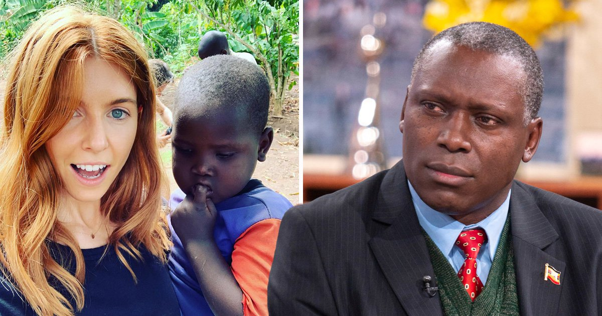 Uganda High Commissioner made 'uncomfortable' by Stacey Dooley's controversial Comic Relief photo