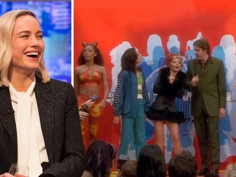 Brie Larson starstruck as she realises Jonathan Ross was in Spice World