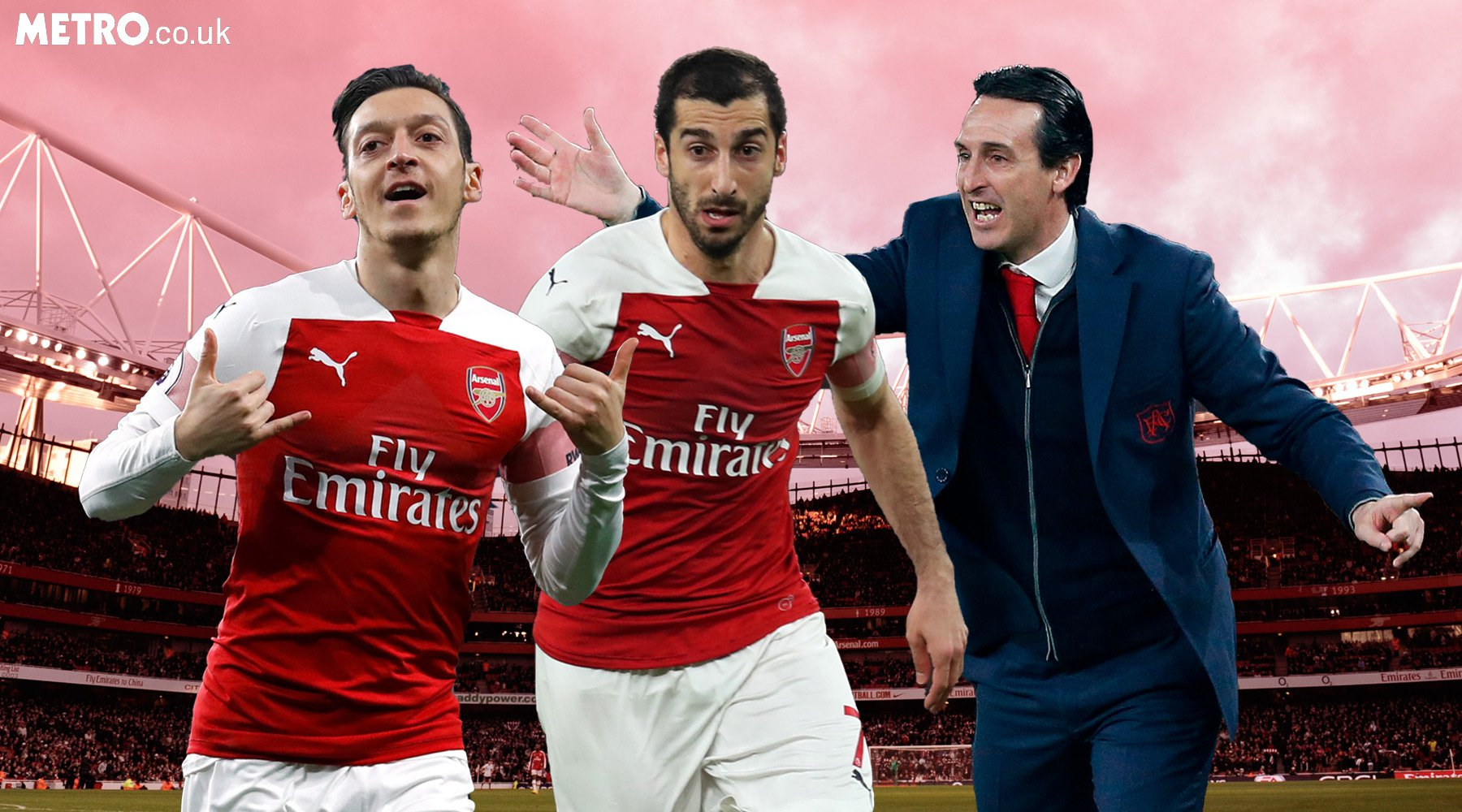 Why Unai Emery must stick with Mesut Ozil and Henrikh Mkhitaryan for Spurs clash
