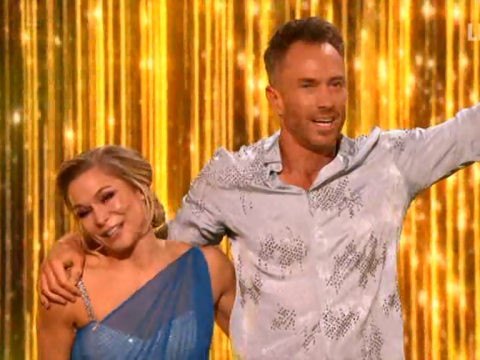 Dancing On Ice's James Jordan earns first two perfect 40 scores of series days after tearing hernia