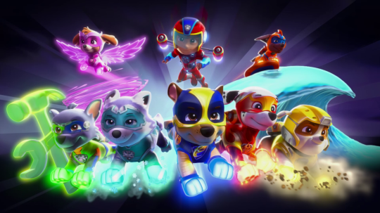Paw Patrol Film Trailer Shows Chase And Co Battling To
