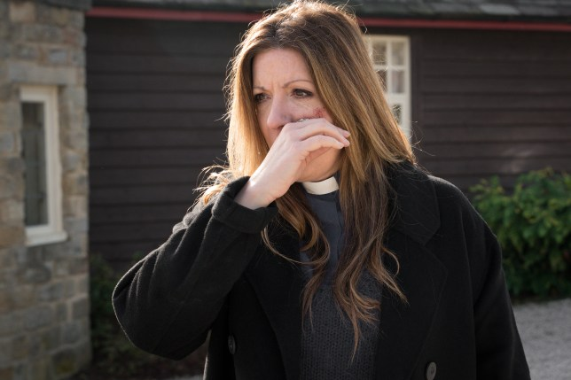 Harriet is assaulted in Emmerdale