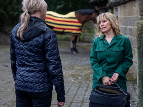 Emmerdale spoilers: Kim Tate has a request for Rhona Goskirk