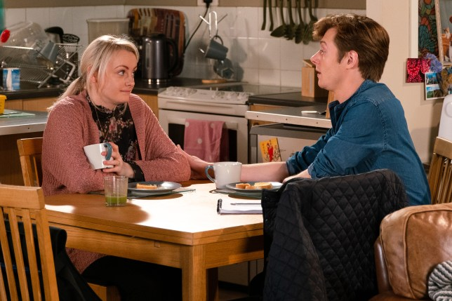 Sinead and Daniel look to the future in Coronation Street