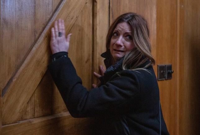 Harriet is trapped in Emmerdale