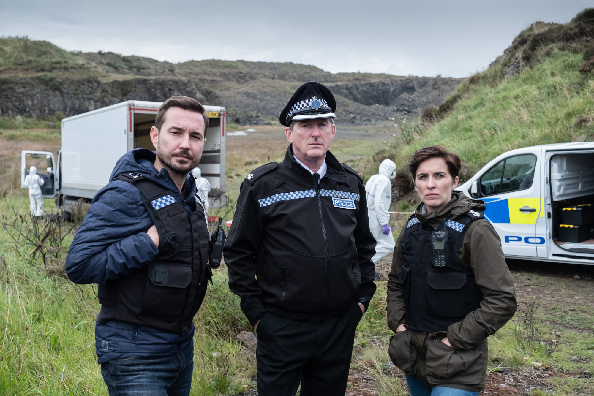 The cast of Line Of Duty season five
