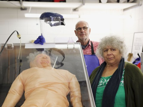 What TV shows and films has Miriam Margolyes been in and who is her partner?