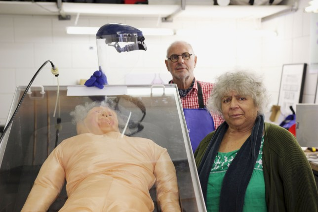 Miriam Margolyes explores different attitudes towards death in her new documentary, airing tonight on BBC