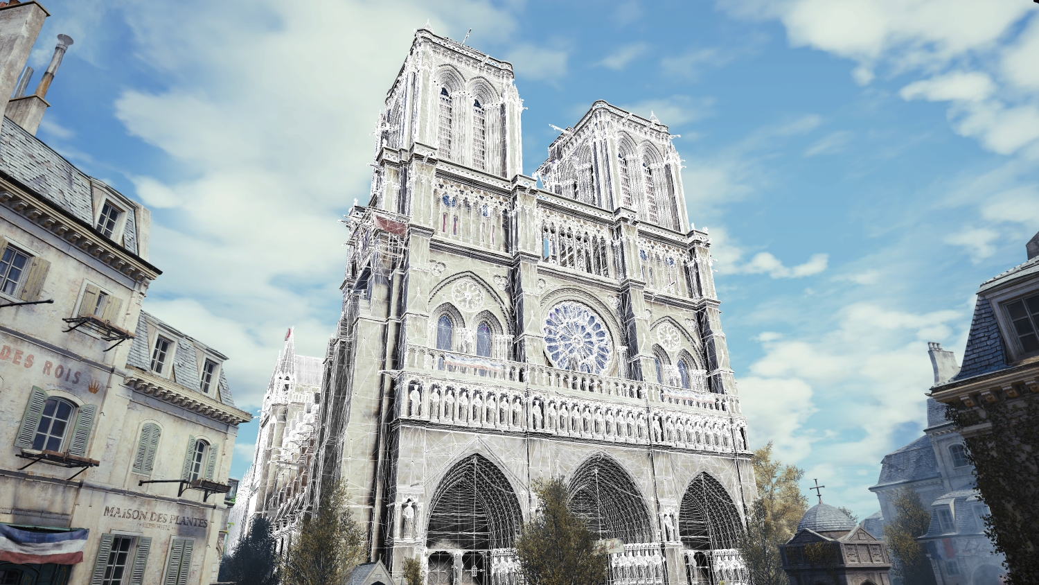 The 3D models from the game could end up being used for the real restoration