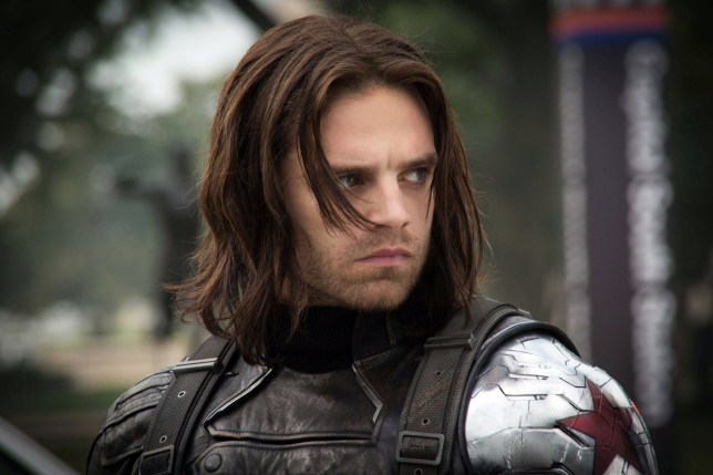 SEBASTIAN STAN Character(s): Bucky Barnes Film 'CAPTAIN AMERICA: THE WINTER SOLDIER' (2014) Directed By ANTHONY RUSSO & JOE RUSSO 13 March 2014 SAH28108 Allstar/MARVEL STUDIOS (USA 2014)/ CAPTAIN AMERICA 2 **WARNING** This Photograph is for editorial use only and is the copyright of MARVEL STUDIOS and/or the Photographer assigned by the Film or Production Company & can only be reproduced by publications in conjunction with the promotion of the above Film. A Mandatory Credit To MARVEL STUDIOS is required. The Photographer should also be credited when known. No commercial use can be granted without written authority from the Film Company.
